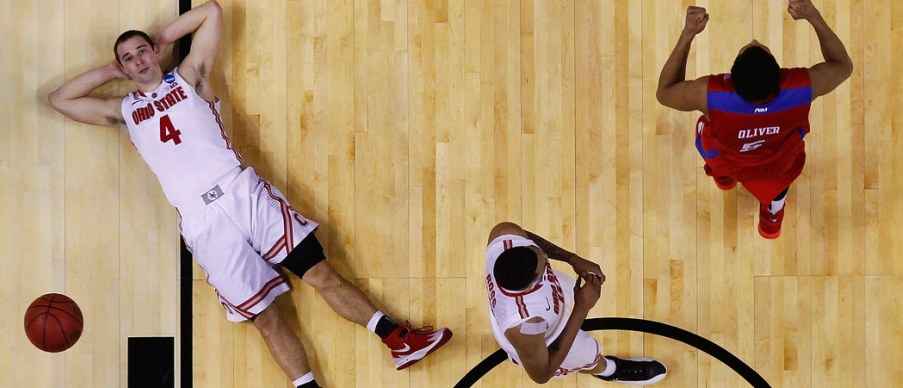 Ohio State laid down in a 2014 tourney loss to 11th-seeded Dayton.