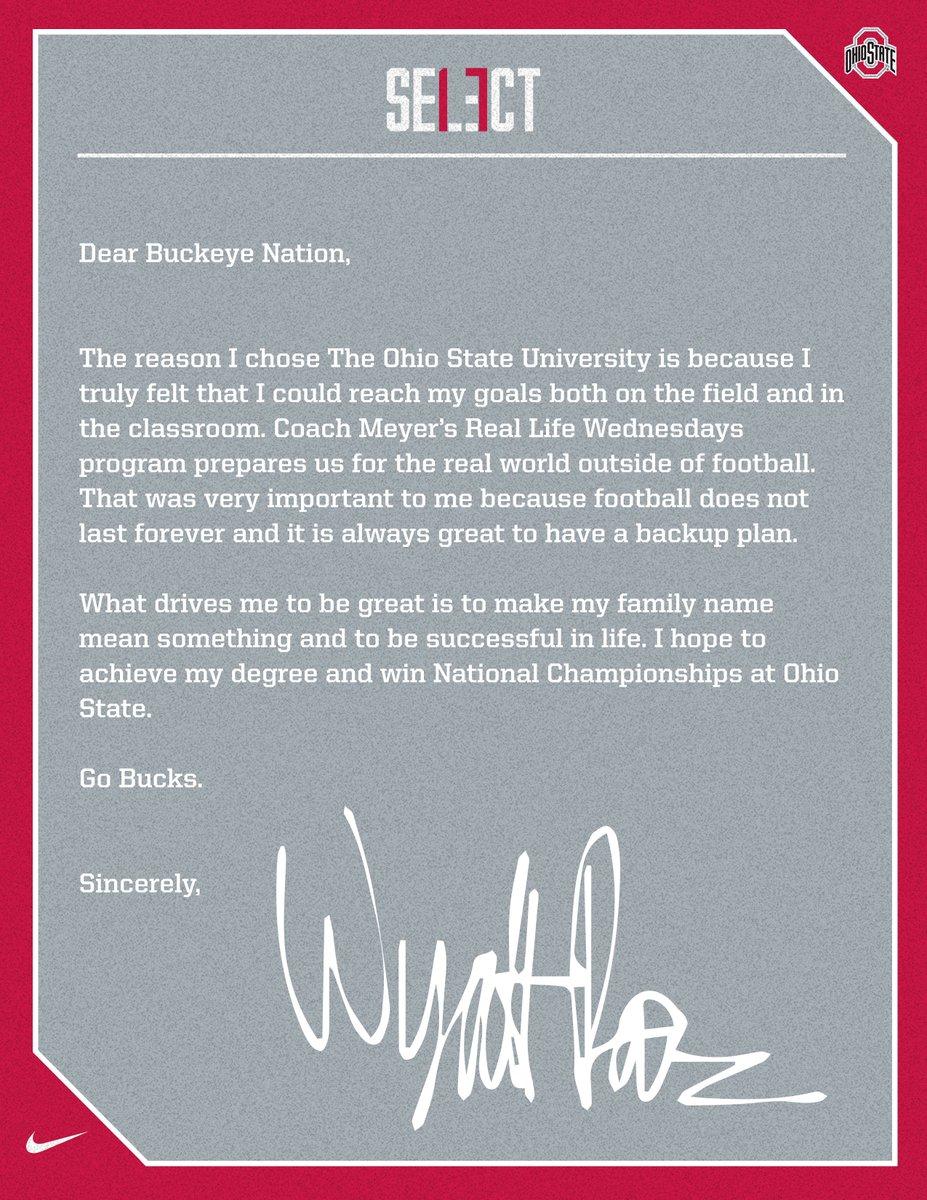 Wyatt Davis letter
