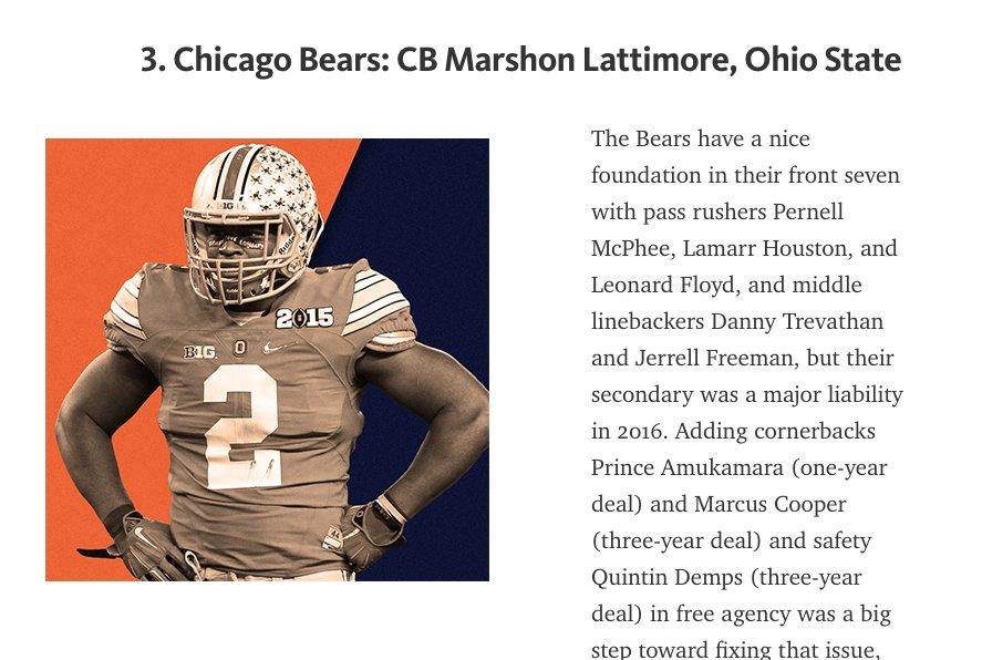 Not Marshon Lattimore