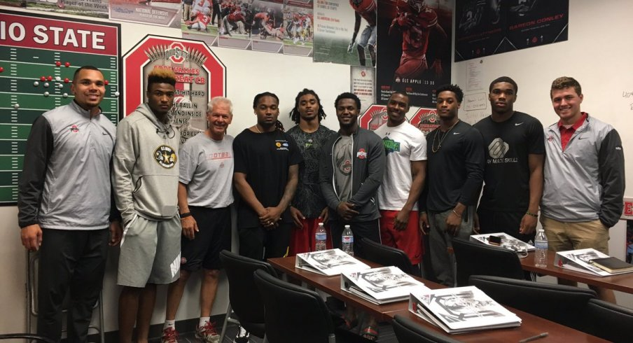 Bradley Roby returns to Ohio State's cornerbacks room.
