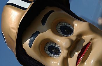 Confirmed: Purdue Pete is creepy.