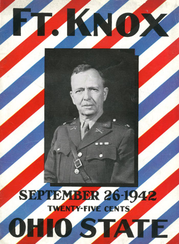 program cover for Fort Knox, 1942