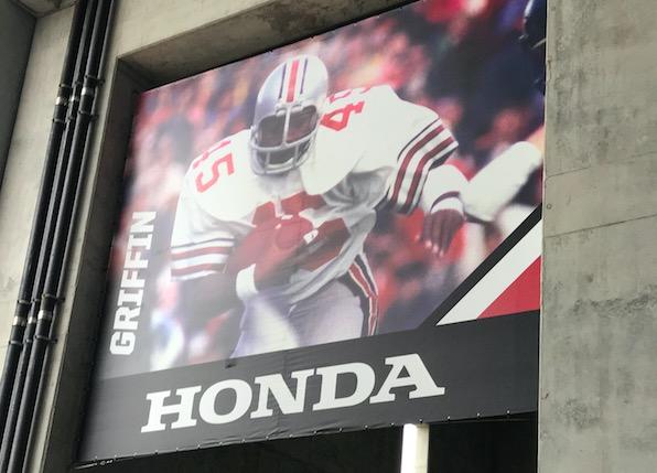 Archie Griffin Honda Banner