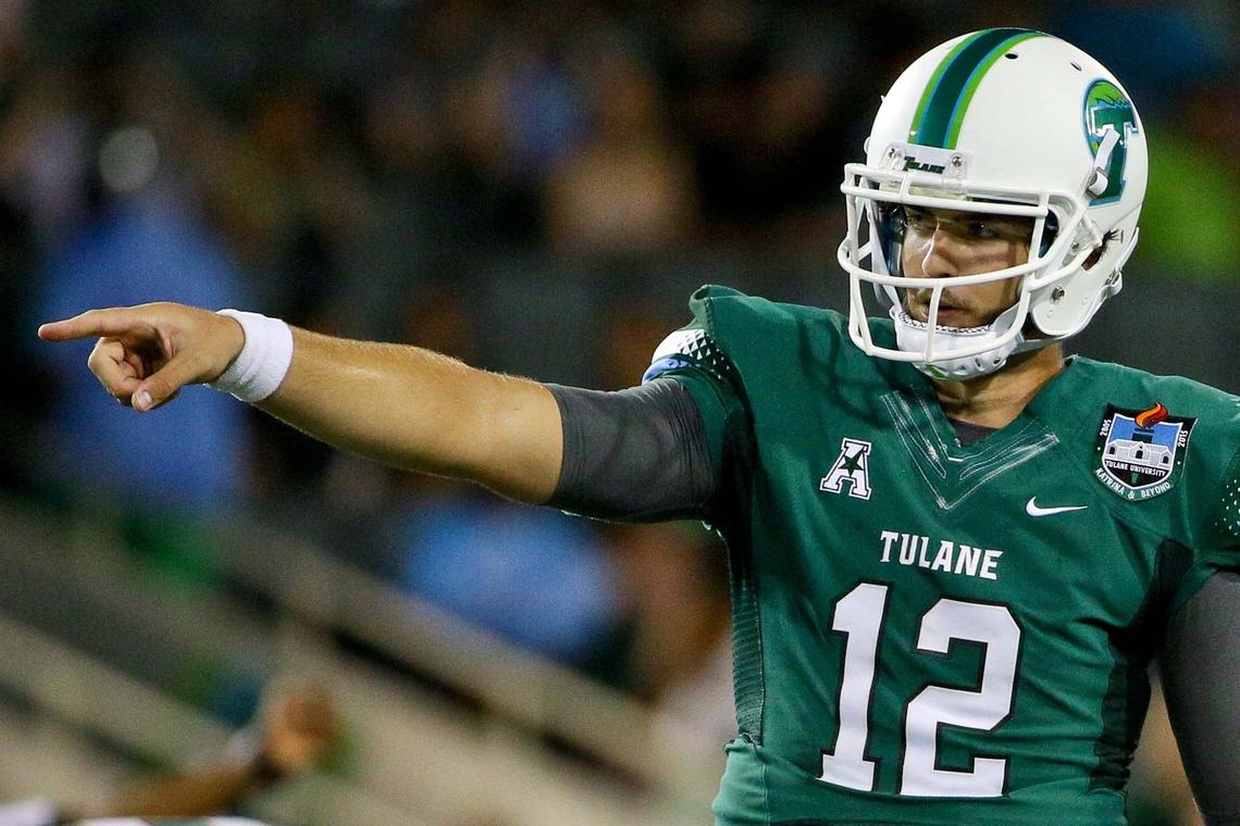 Tulane transfer Tanner Lee is Nebraska's new starting quarterback.