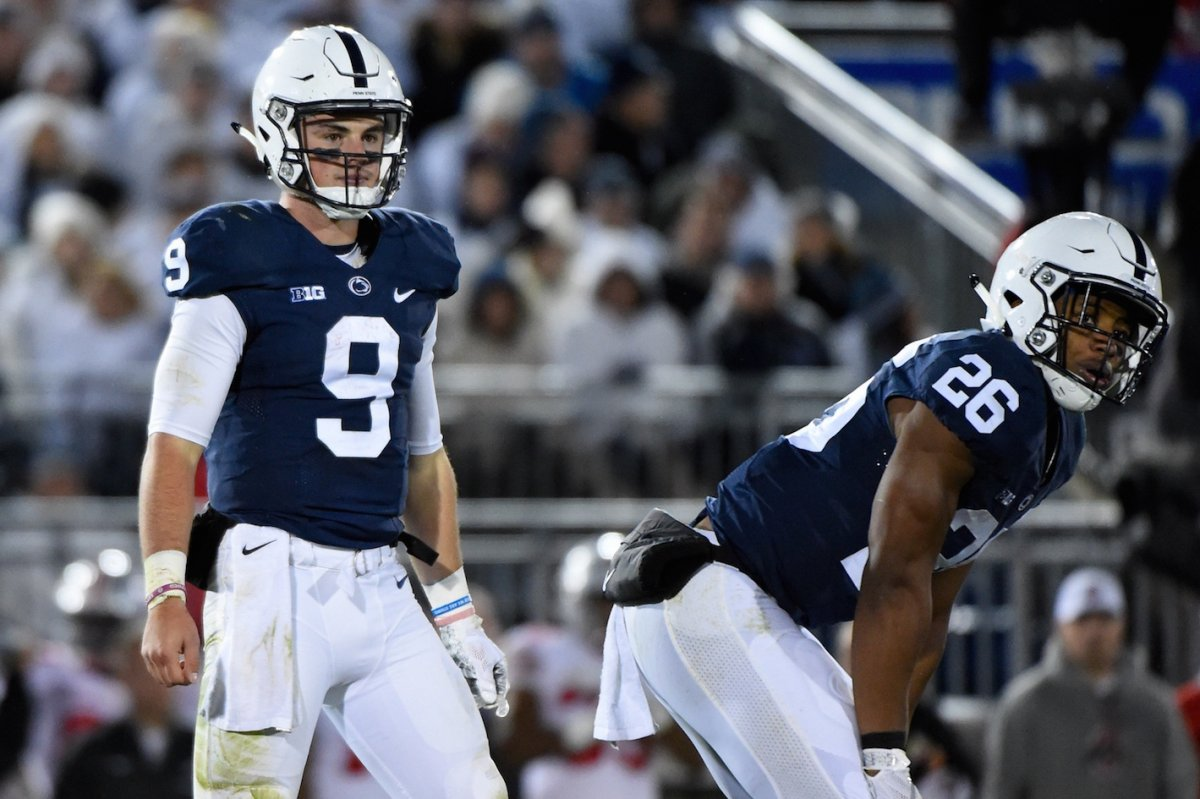 McSorley and Barkley could be the best quarterback-running back tandem in college football.