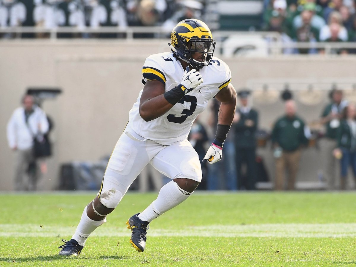Rashan Gary is expected to be among the Big Ten's defensive standouts in 2017.