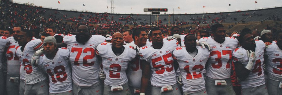Ryan Shazier and company sing Carmen Ohio.