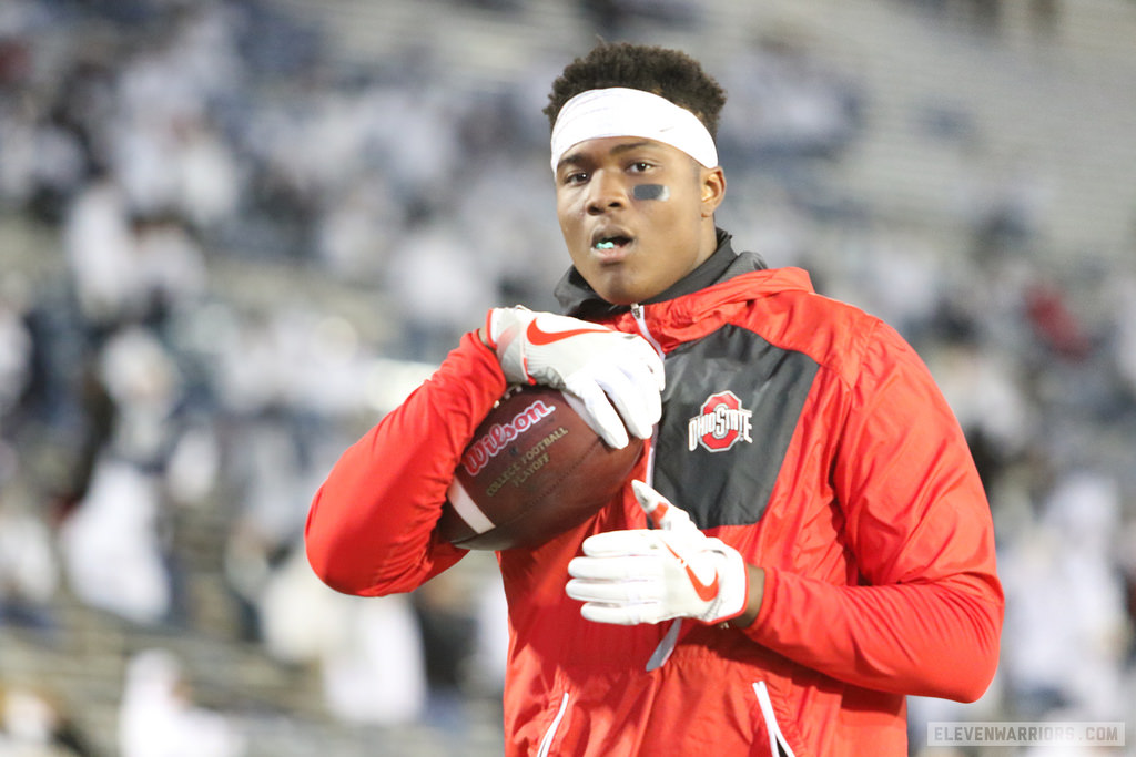 Dwayne Haskins has vision of eventually starting at Ohio State, but he's focused on the 2017 season right now.
