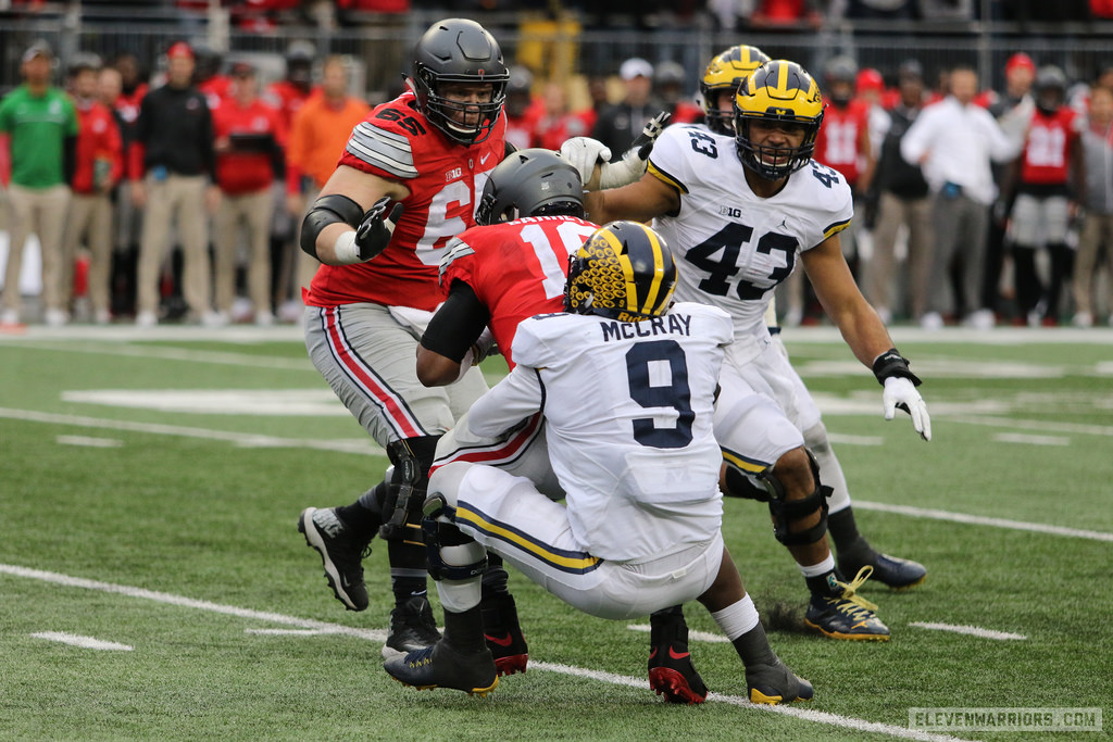 Mike McCray is the only returning starter on Michigan's defense.