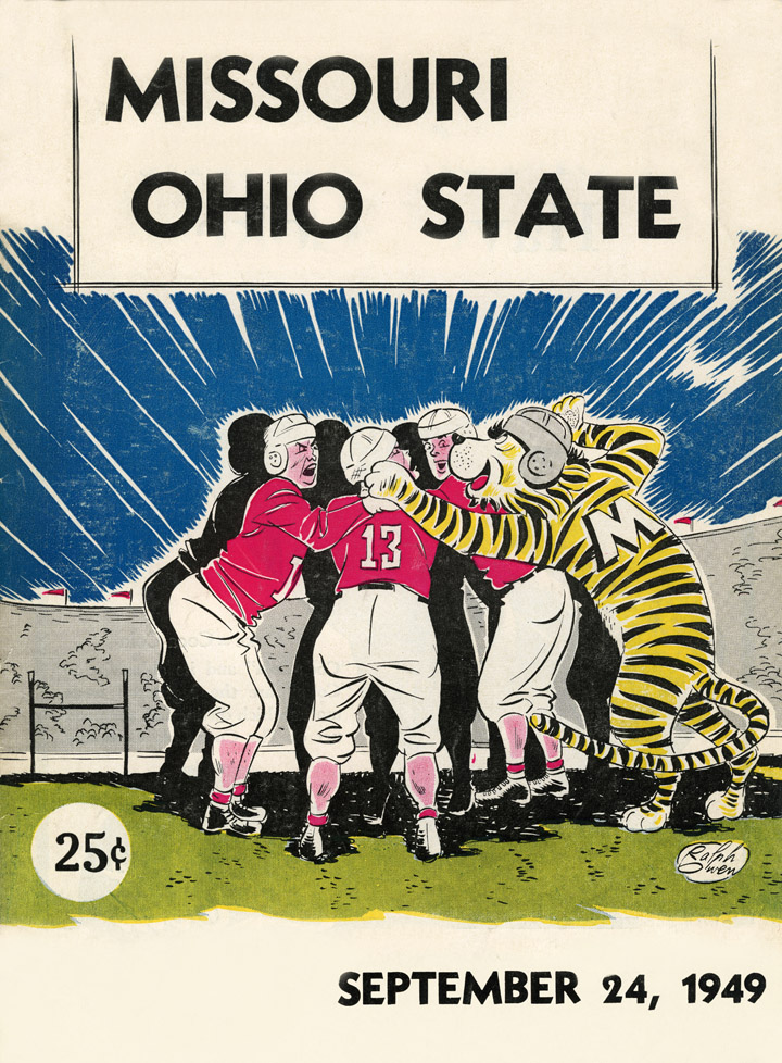 1949 Missouri at Ohio State