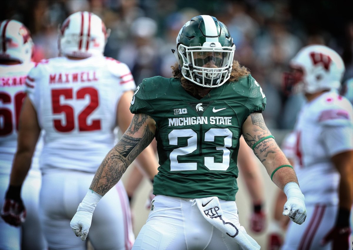 Chris Frey is Michigan State's top returning defensive player.