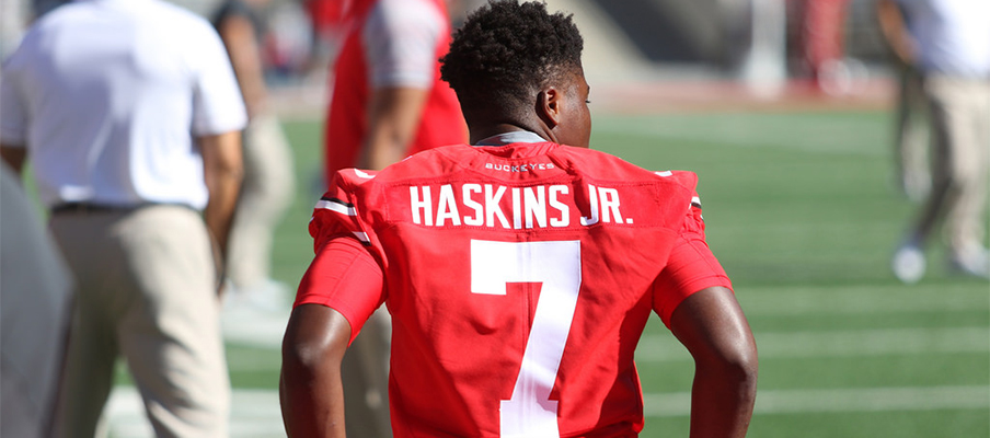 Dwayne Haskins could be Ohio State's quarterback of the future.