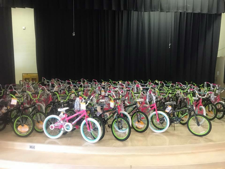 that's a lot of bikes