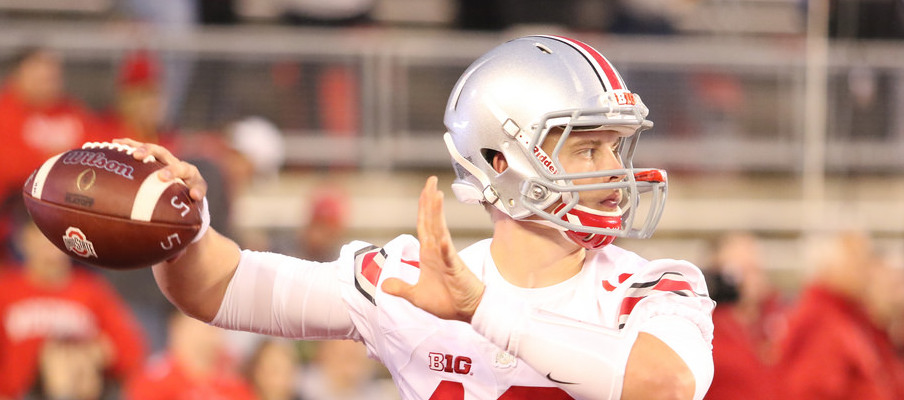 Joe Burrow saw occasional playing time as a backup quarterback during the 2016 season.