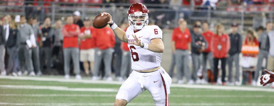 Baker Mayfield was the star of Saturday night's game in Ohio Stadium.