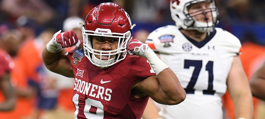 Caleb Kelly looks to be a breakout player on Oklahoma's defense.