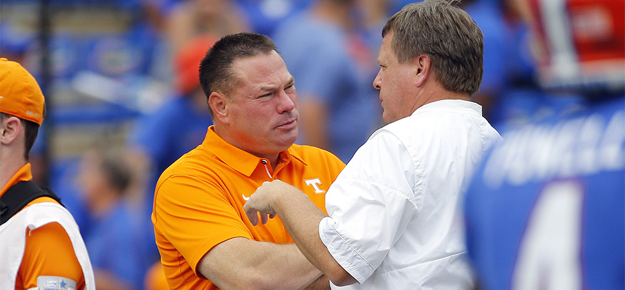 It's been a rough few years for Butch Jones and Jim McElwain.