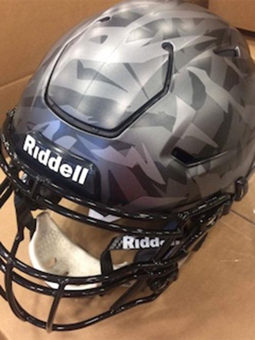 Land of the Wolves Helmet, 2017 vs. Penn State