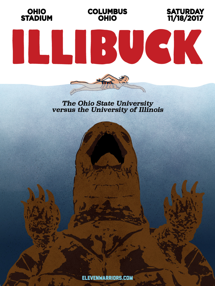 Illibuck returns from the depths in this week's game poster.