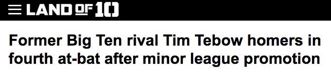 """Former Big Ten Rival"""