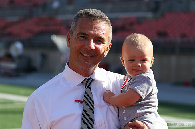 Urban Meyer and Troy