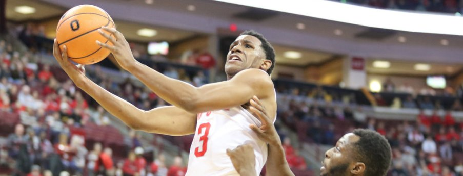 C.J. Jackson is Ohio State's second-leading scorer at 13.5 points per game.