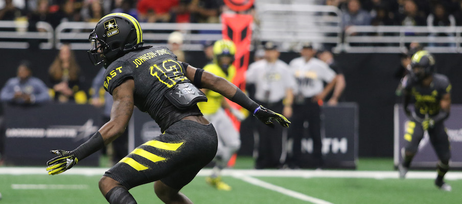 Tyreke Johnson at the U.S. Army All-American Bowl