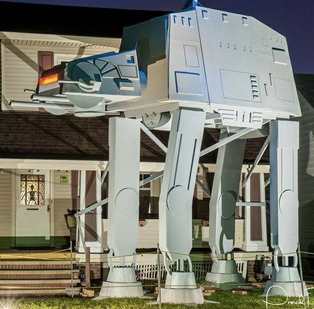 THIS IS A FREAKING AT-AT WALKER