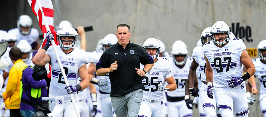 Pat Fitzgerald's Wildcats could be Wisconsin's biggest threat in the West.