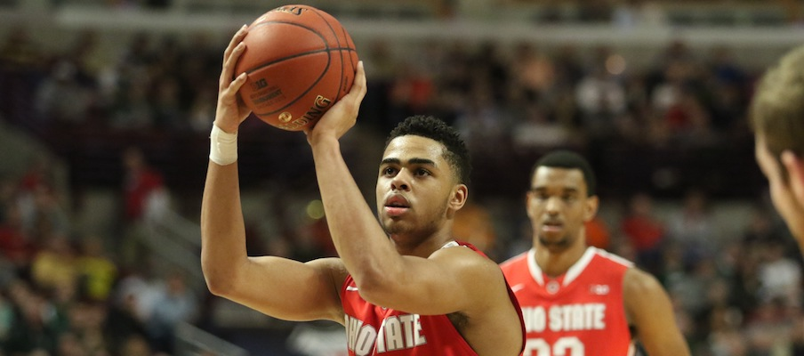 D'Angelo Russell and Keita Bates-Diop