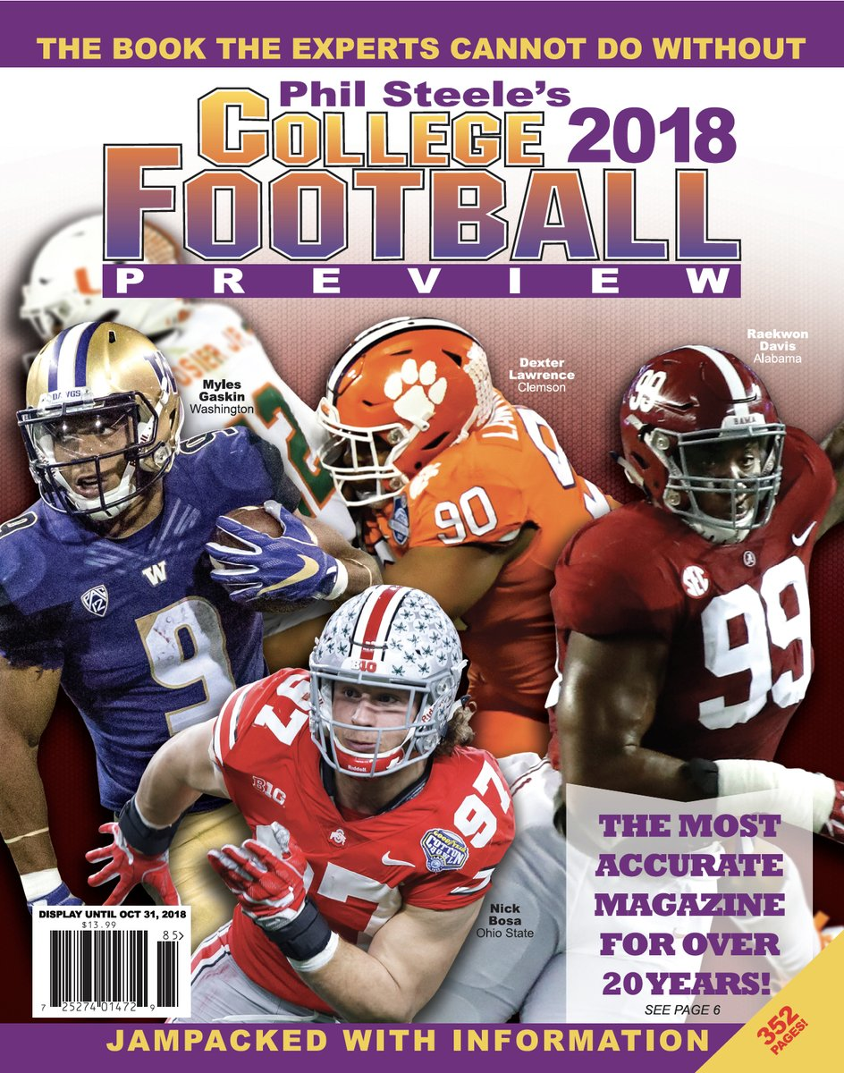 Phil Steele's National Cover