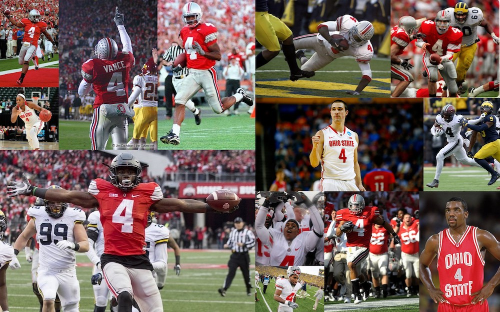 ohio state number fours