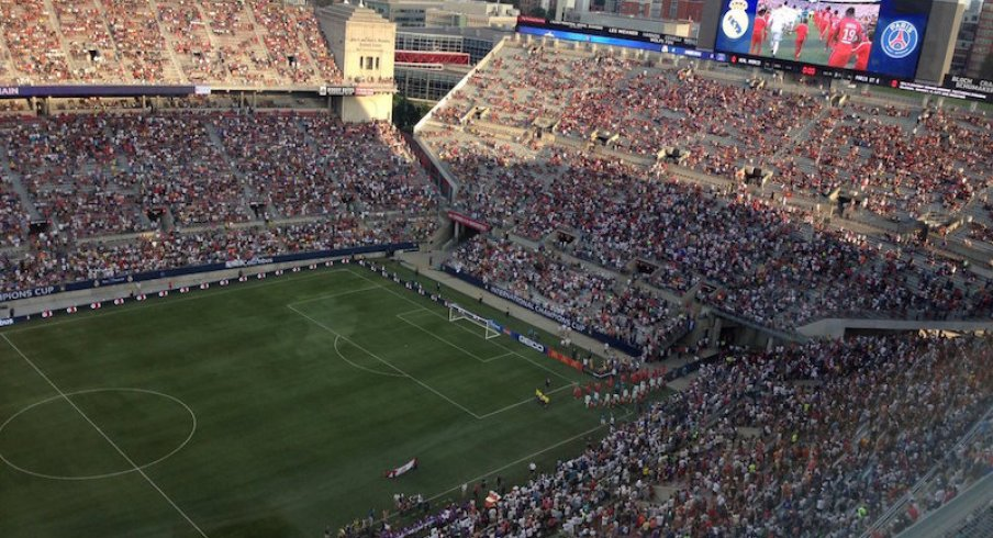 PSG-Real Madrid Match in the Shoe