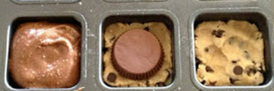 Reese's Cookie Brownie
