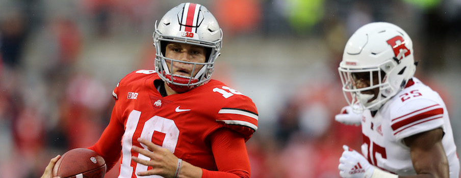 4291a1c3217 Tate Martell showed Saturday why he could continue have a role in Ohio  State's offense this season. Aaron Doster – USA TODAY Sports