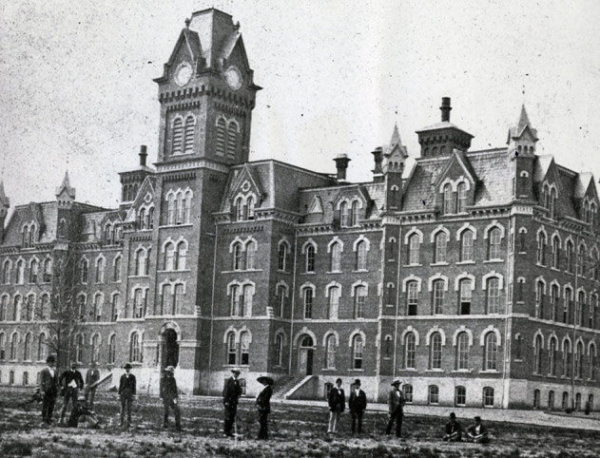 The original University Hall