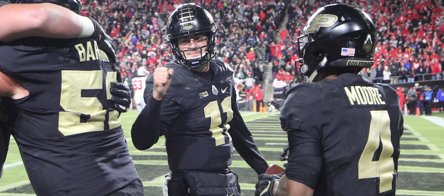 David Blough and Rondale Moore