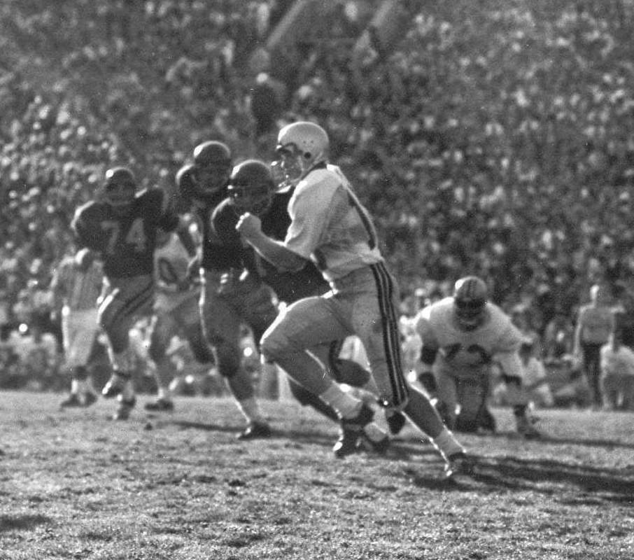 Rex Kern in the Rose Bowl.