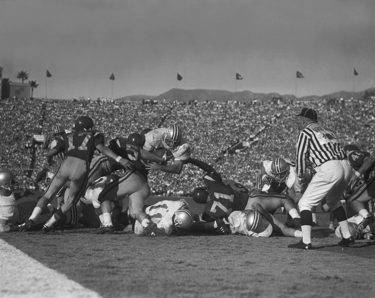 Jim Otis in the Rose Bowl