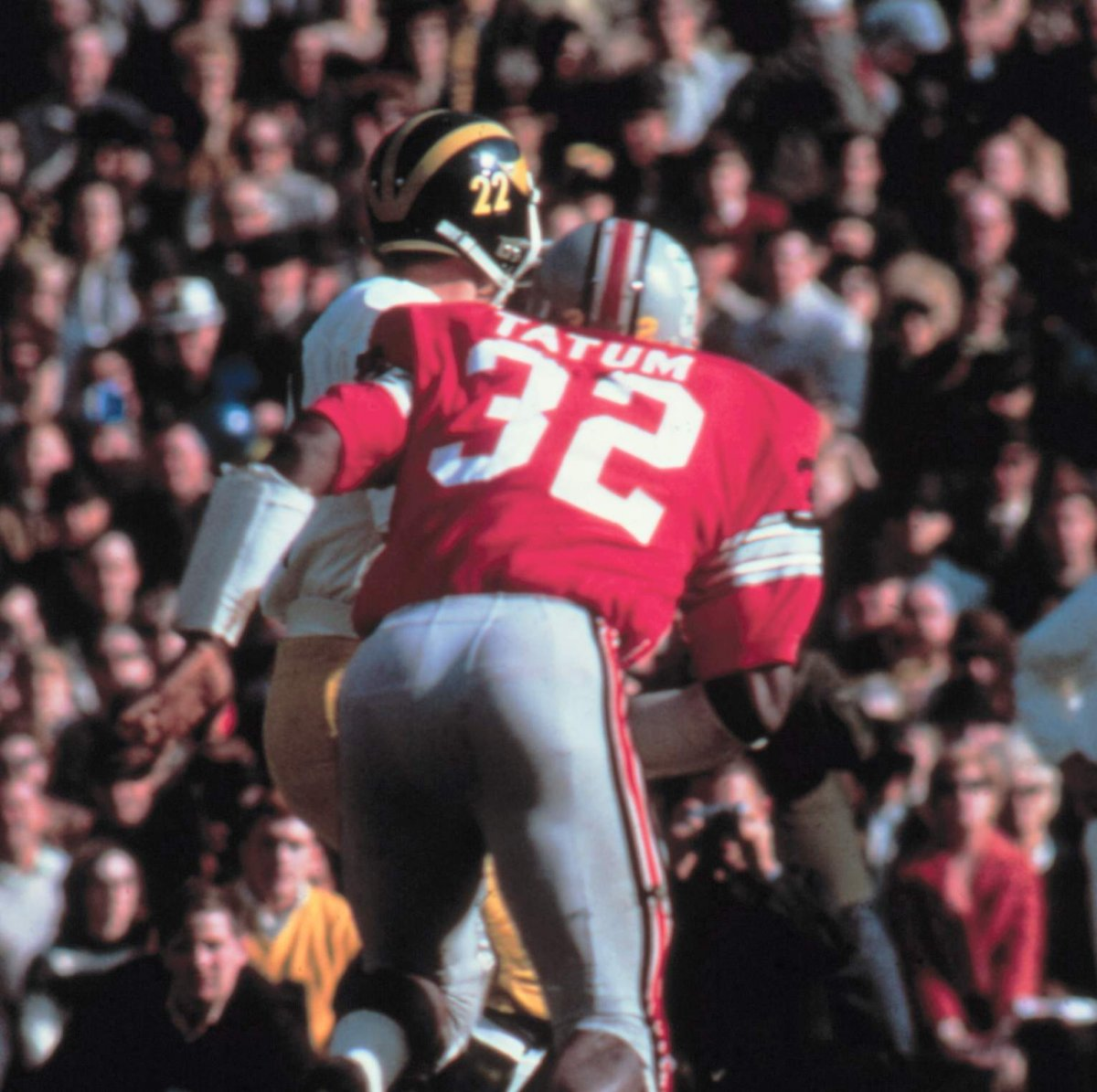Jack Tatum against Michigan.