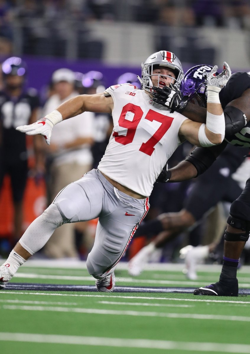 holding is only a penalty when Ohio State does it