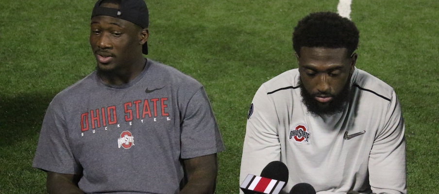 Johnnie Dixon and Parris Campbell