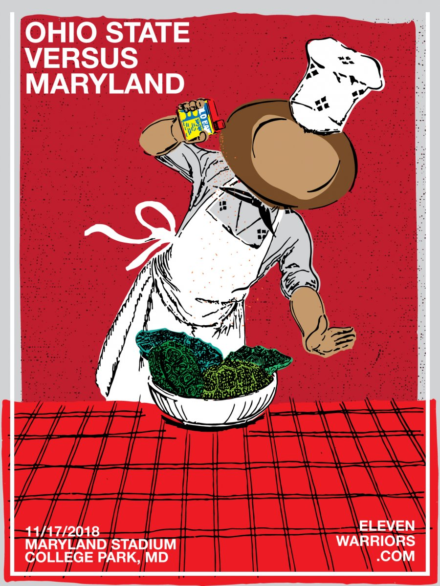 Brutus whips up some regional cuisine in this weeks' Game Poster.