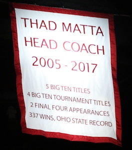 Thad Matta banner
