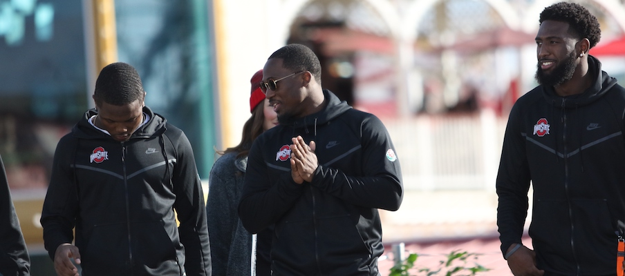 Terry McLaurin, Johnnie Dixon and Parris Campbell