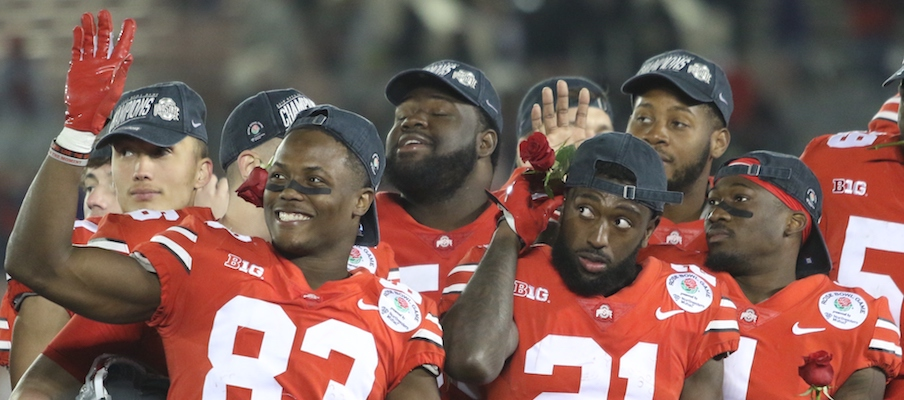 Terry McLaurin, Parris Campbell and Johnnie Dixon