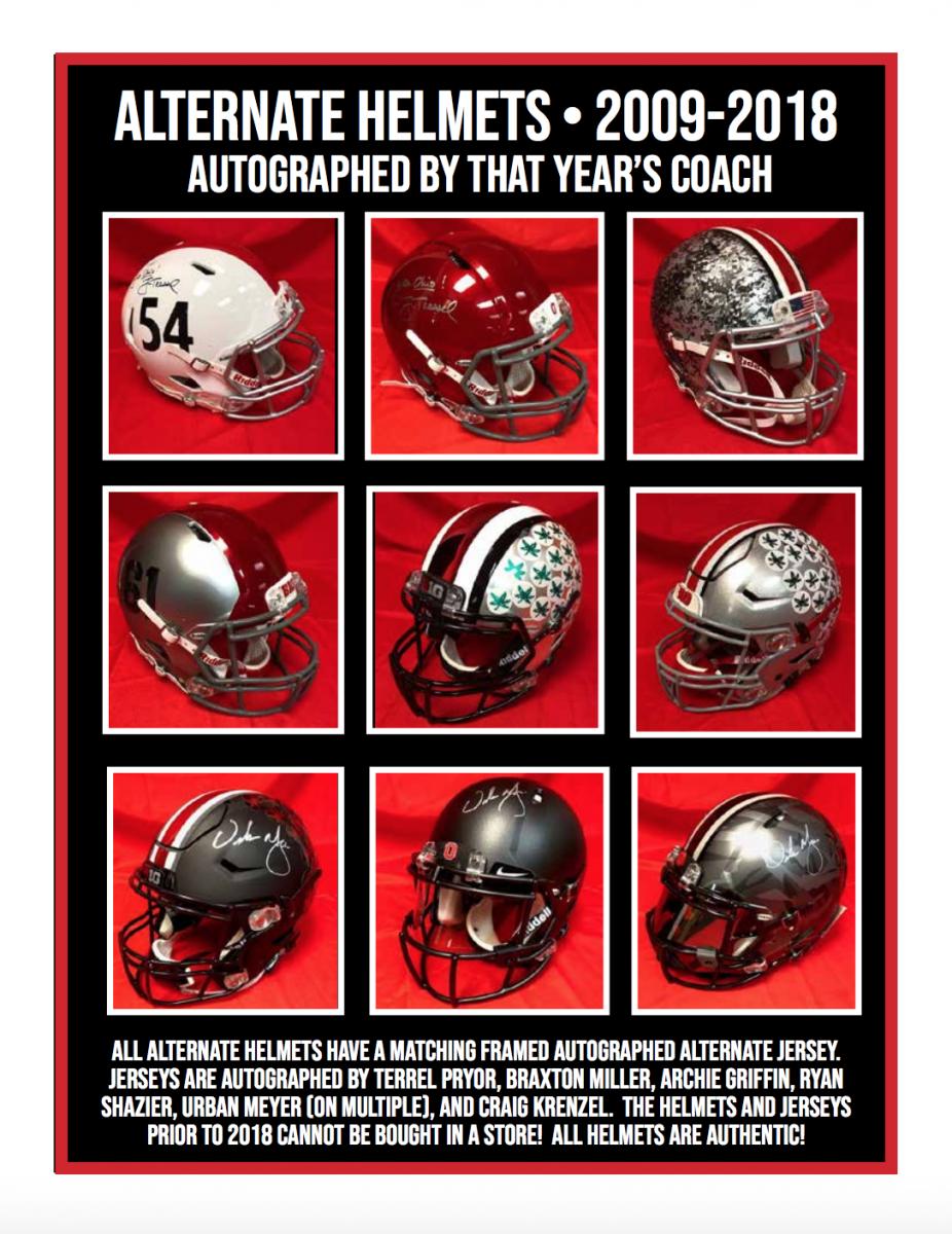 Alternate helmets