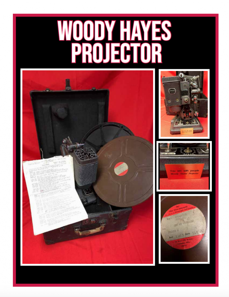 Woody's film projector.