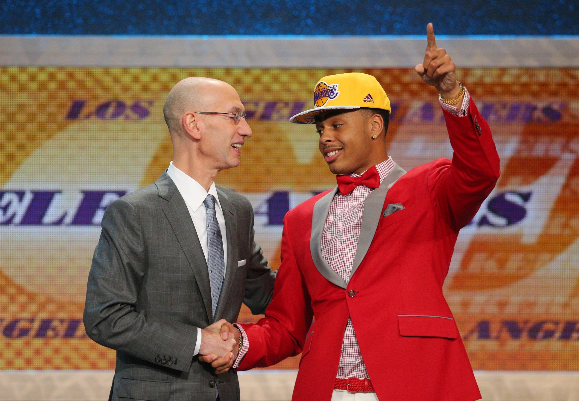 D'Angelo Russell went second overall in the 2015 NBA Draft following an All-American season in Columbus.
