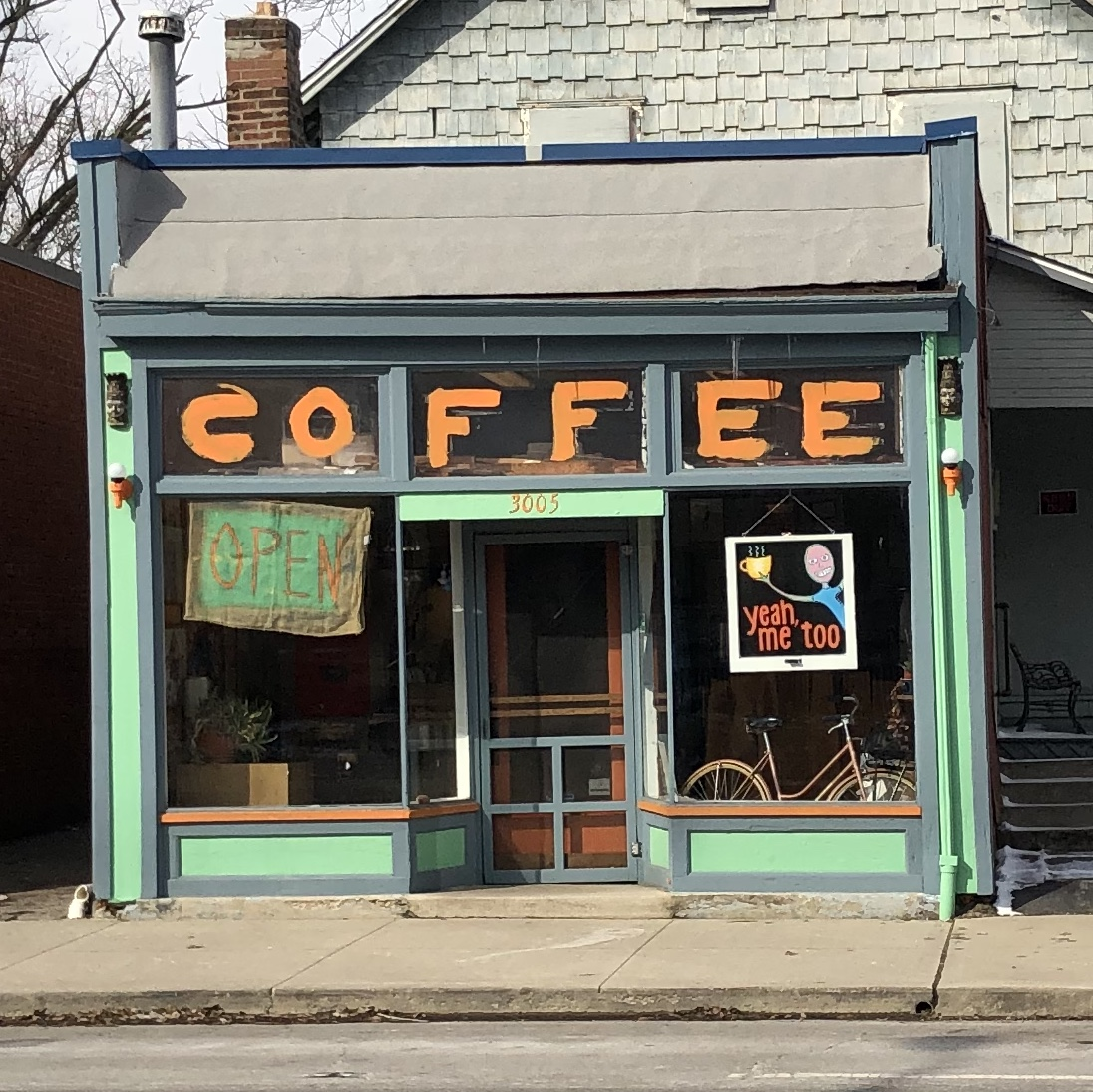 World's best coffee shop.